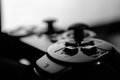 Game Controller Black And White Royalty Free Stock Photo - 47400925