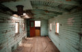 Abandoned Railroad Caboose Interior Western Ghost Town Stock Image - 47408201