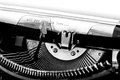 Close Up Of A Typewriter Royalty Free Stock Photo - 47409955
