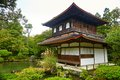 Ginkakuji Temple (The Golden Pavilion) In Kyoto Royalty Free Stock Images - 47416429