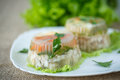 Fish In Aspic Stock Images - 47422344