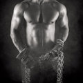 Sexy Worker In Black And White Royalty Free Stock Photos - 47426388