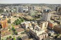 Aerial View Of The City Center. Royalty Free Stock Photos - 47443678