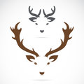 Vector Image Of An Deer Head Royalty Free Stock Photography - 47453027