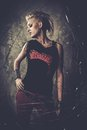 Punk Girl Royalty Free Stock Images - 47458529