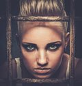 Troubled Teenager In Cell Royalty Free Stock Photo - 47458615