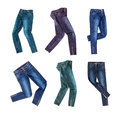 Jeans Royalty Free Stock Photo - 47466825