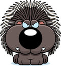 Cartoon Porcupine Angry Stock Photo - 47476070