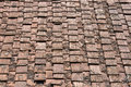 Ancient Terracotta Roof Tile, Italy Royalty Free Stock Photo - 47481555