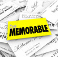 Be Memorable Business Cards Pile Stand Out Unique Different Spec Royalty Free Stock Photo - 47493065
