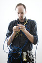 Stuck In Wires Royalty Free Stock Photography - 4755797