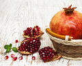 Pomegranates Royalty Free Stock Photo - 47502225
