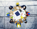 Brainstorming Planning Partnership Strategy Workstation Business Royalty Free Stock Image - 47504036