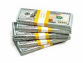 Bundles Of 100 US Dollars 2013 Edition Banknotes Royalty Free Stock Images - 47509269