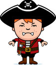 Angry Pirate Boy Royalty Free Stock Photos - 47526878