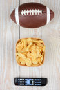 Football Chips Remote Royalty Free Stock Image - 47572666