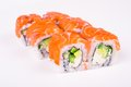 Philadelphia  Salmon Roll Royalty Free Stock Images - 47584989
