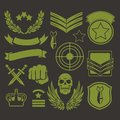 Special Unit Military Patches Royalty Free Stock Images - 47585249