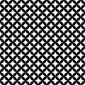 Black And White Interconnected Circles Tiles Pattern Repeat Back Royalty Free Stock Photos - 47586348