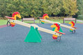Seesaw For Playground Royalty Free Stock Photography - 47598537