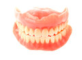 False Teeth Isolated On White Royalty Free Stock Images - 47604429
