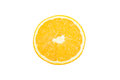Sliced Orange Top View Royalty Free Stock Photography - 47616667