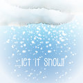 Watercolour Snow Cloud Royalty Free Stock Images - 47622729