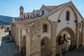 Church Of The Holy Cross At Omodos Cyprus Stock Photos - 47631263