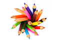 Circle Of Color Pencil Stock Photo - 47631440