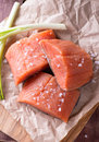 Raw Red Fish Fillet Royalty Free Stock Image - 47638396