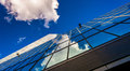 Clouds Reflecting In The John Hancock Building Royalty Free Stock Photos - 47642718