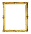 Victorian Style Photo Frame Isolated On White Background Stock Photography - 47660352
