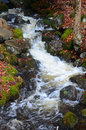 Babbling Brook Waterfall Royalty Free Stock Photography - 47667667