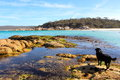 Bay Of Fires Beautiful Day Royalty Free Stock Images - 47669239