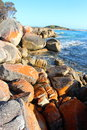 Bay Of Fires Beautiful Day Royalty Free Stock Images - 47669389