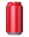 Red Metal Drink Can Royalty Free Stock Images - 47681799