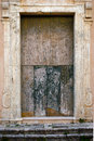 Italian Door Of The Church Very Old And Ruine Royalty Free Stock Photos - 47697948