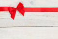Valentines Day Background With Red Ribbon Royalty Free Stock Images - 47699329