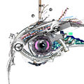 Mechanical Eye Stock Photography - 47700292