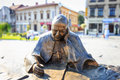Sculpture Of Pope John Paul II In The City Center Of Wadowice Stock Photography - 47700372