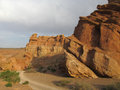 Rock Formations In Canyon Charyn (Sharyn) National Park Royalty Free Stock Image - 47703756