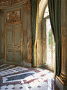 Large Window, Curtains And Marble Floor At Versailles Palace Stock Photography - 47707252