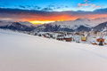 Famous Ski Resort In The Alps,Les Sybelles,France Royalty Free Stock Photography - 47721667