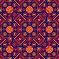 Colourful Ajrak Pattern Stock Images - 47727164