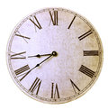 Old Antique Wall Clock Royalty Free Stock Photos - 47729808