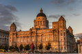 Port Of Liverpool Building At Sunset Stock Images - 47734814