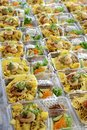 Prepare Food In Plastic Box Royalty Free Stock Photography - 47736637
