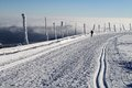 Cross Country Skiing On The Praded Mountain Stock Photo - 47739820
