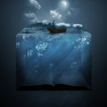 Anchor And Bible Stock Images - 47742844