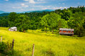 Old House In A Field In The Potomac Highlands Of West Virginia. Stock Photos - 47758823